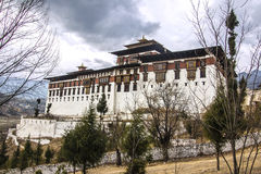 The Paro Dzong Royalty Free Stock Photography