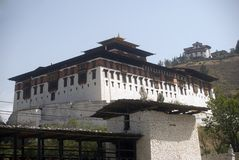 Paro Dzong, Paro, Bhutan Royalty Free Stock Photo