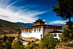 Paro Dzong2 Royalty Free Stock Image