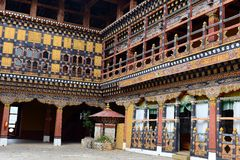 Paro Dzonge Of Bhutan Stock Photo