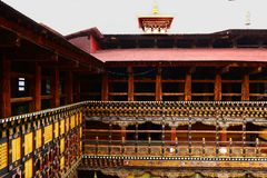 Paro Dzonge Of Bhutan Royalty Free Stock Images