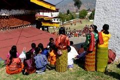 Paro Festival in Bhutan Stock Image