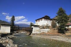 Paro Rinpung Dzong Obrazy Royalty Free