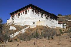 Paro Rinpung Dzong Fotografia Stock