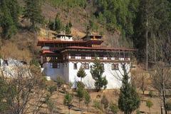Paro Rinpung Dzong Fotografia Stock Libera da Diritti