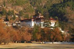 Paro Rinpung Dzong Immagine Stock