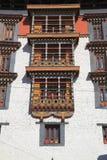 Paro Rinpung Dzong Stock Image