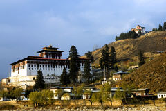 Paro's Dzong Royalty Free Stock Photography