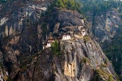 Paro Taktsang: Το μοναστήρι φωλιών τιγρών ` s - Μπουτάν στοκ εικόνες με δικαίωμα ελεύθερης χρήσης