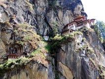 Paro Taktsang de Butão Imagens de Stock Royalty Free