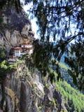 Paro Taktsang de Butão Foto de Stock Royalty Free