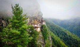 Paro Taktsang Tiger Nest au Bhutan Photographie stock