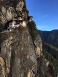 Paro Taktsang. Taktsang (Tiger's Nest) Monastery in Paro, Bhutan Stock Photos