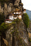 Paro Taktsang 'tygrysy Gniazduje' monaster, Paro, Bhutan Zdjęcie Stock