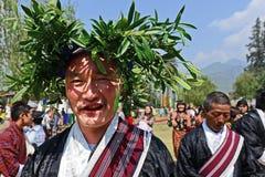 Paro Tsechu Festival Royalty Free Stock Image