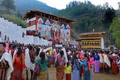 Paro Tsechu Festival Stock Image