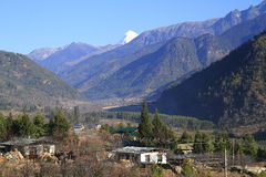 Paro Valley, Bhutan Stock Photos