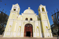Parochial church of the city of Gracias Royalty Free Stock Photo