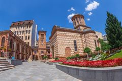 Parochial Museum The Old Court, Bucharest, Romania Royalty Free Stock Photo