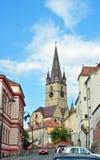 Parochiale Evangelische Kerk Stock Foto