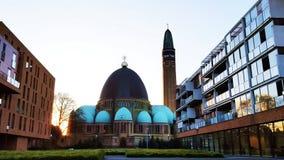 Parochie Sint Doper 1月de瓦尔韦克 免版税库存照片