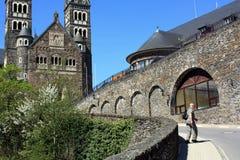 Parochiekerk in Clervaux Stock Afbeelding