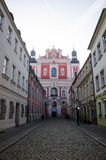 """Parochiekerk van PoznaÅ """", Polen - vooraanzicht Royalty-vrije Stock Foto's"""