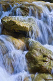 Parod River Israel. Flowing water the Parod river in the Galilee, Israel Royalty Free Stock Photo