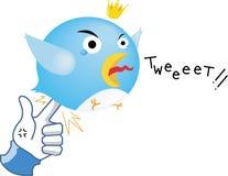Parodia sociale della rete - come vendetta illustrazione di stock