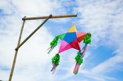Parol - символ рождества на Филиппинах Стоковые Изображения