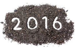 Parola 2016 Fotografia Stock