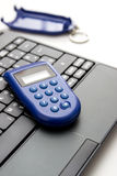 Parola d'ordine di una volta, e-banking Fotografie Stock