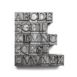 Parola di ABC, scritto tipografico Immagini Stock Libere da Diritti
