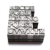 Parola di ABC, scritto tipografico Immagine Stock Libera da Diritti