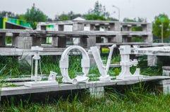 Parola di amore Immagini Stock