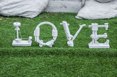 Parola di amore Fotografia Stock Libera da Diritti