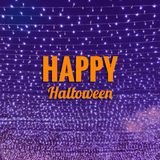 Parola di Halloween Fotografie Stock Libere da Diritti