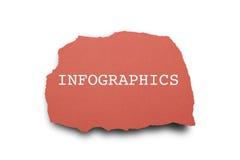 Parola di INFOGRAPHICS Fotografia Stock Libera da Diritti