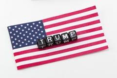 Parola di Trump fotografia stock