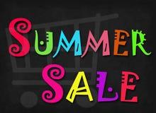 Parola di vendita di estate Fotografie Stock Libere da Diritti