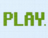 parola Lego del gioco 3D Illustrazione Vettoriale