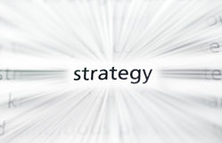 Parole di affari Immagine Stock
