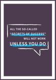 Parole motivazionali ispiratrici Fotografia Stock