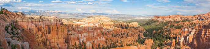 Paronamic view of Bryce canyon national park in Utah. USA Royalty Free Stock Photography