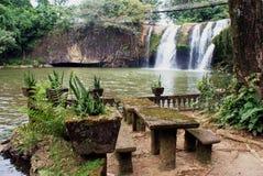 Paronella Park Waterfall Stock Photos