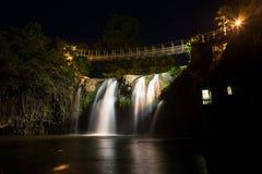 Paronella Park Waterfall in Queensland, Australia Stock Images