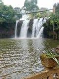 Paronella park waterfall stock image