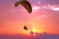 paroplane полета Стоковые Фото