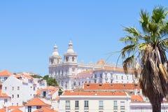 Paroquia de Sao Vicente de Fora, Lisboa, Portugal Fotografía de archivo libre de regalías