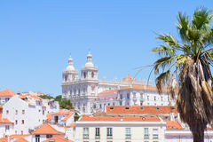 Paroquia de Sao Vicente de Fora, Lisbon, Portugal Royalty Free Stock Photography